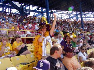 LSU fans 2009