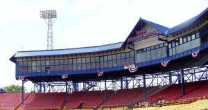 Rosenblatt Stadium Pressbox